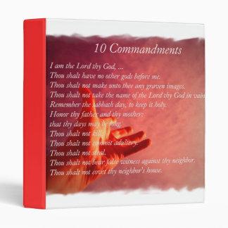 10 Comandments Binder