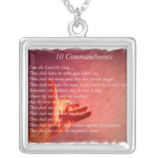 10 Comandments Necklace