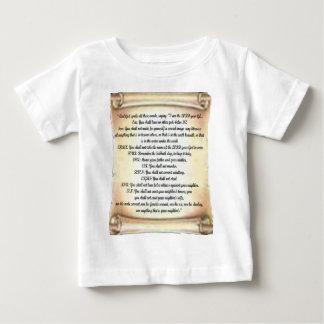 10 commandments baby T-Shirt