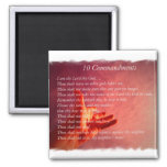 10 Commandments Magnet