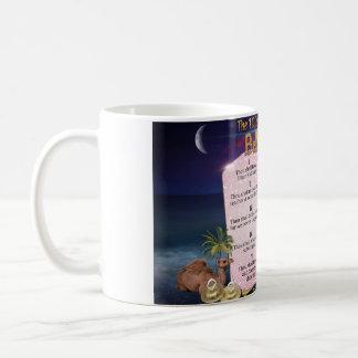10 Commandments of Belly Dance Coffee Mug