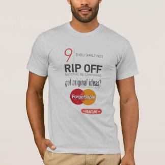 10 Commandments of Outdoor Advertising Shirt #9