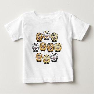 10 Cow Infant T Baby T-Shirt