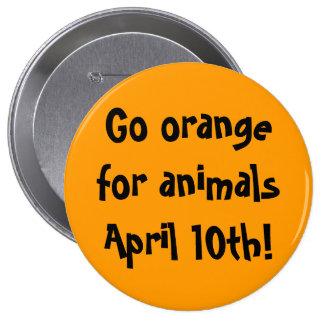 10 de abril botón pins