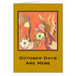 10 de octubre hola tarjetas
