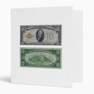 10 Dollar United States Gold Certificate Binder