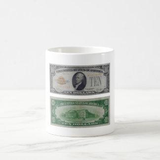 10 Dollar United States Gold Certificate Mug