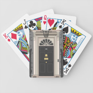 10 Downing Street, London (drawing) Bicycle Card Deck