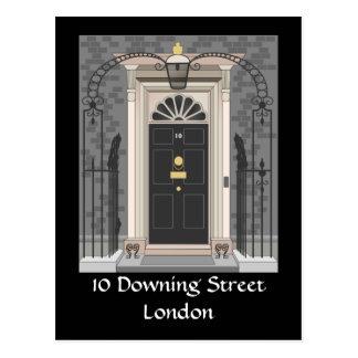 10 Downing Street, London (drawing) Postcard
