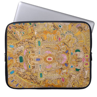 "10"" electronics sleeve with decorative design"