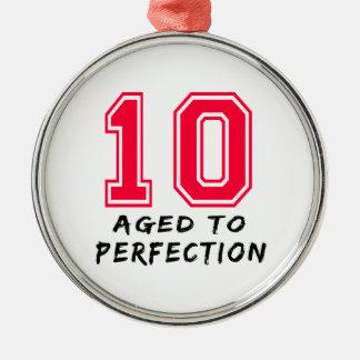 10 envejeció al diseño del cumpleaños de la perfec ornamento de reyes magos