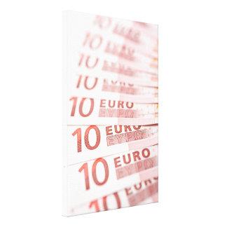 10 Euros Canvas Print