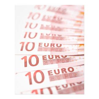 """10 Euros 8.5"""" X 11"""" Flyer"""