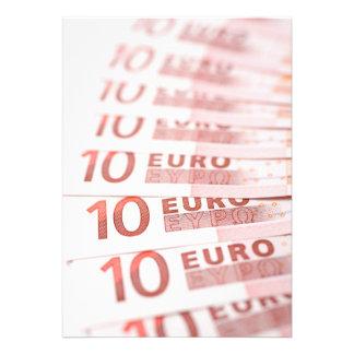 10 Euros Personalized Invitations