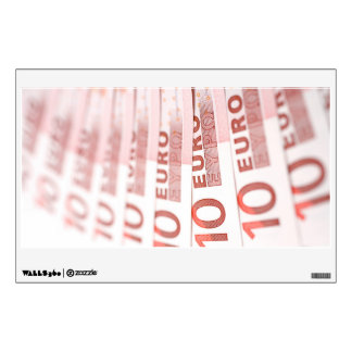 10 Euros Wall Graphic
