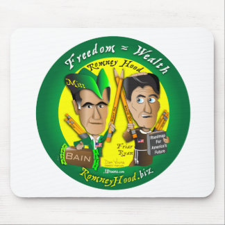 10. Freedom = Wealth Mouse Pad
