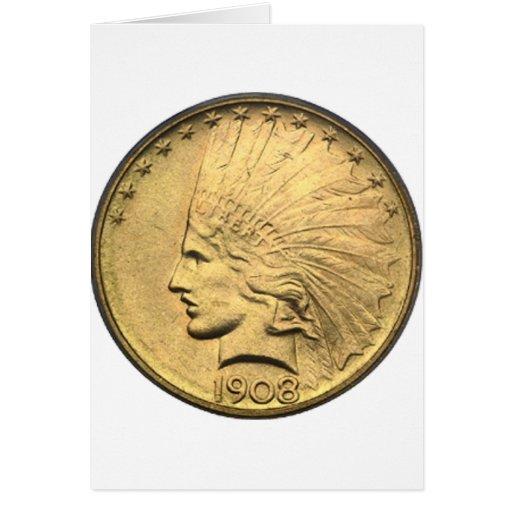 $10 GOLD PIECE CARD