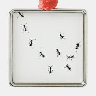 10 hormigas ornamento de reyes magos