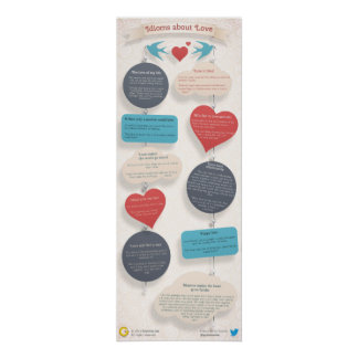 10 Idioms about Love Poster