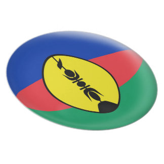 10 inch Plate New Caledonia flag