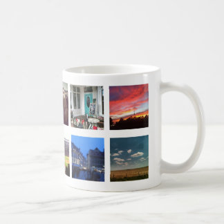 10 Instagram Photos on White Coffee Mug