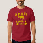 10 Julius Caesar's Famed 10th Legion - Roman Bull T-shirt
