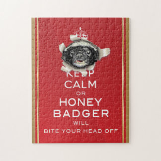 [10] Keep Calm or Honey Badger… Jigsaw Puzzle