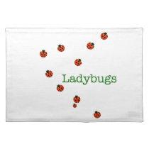 10 ladybugs placemat