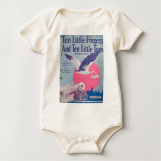 10 Little Fingers and 10 Little Toes Baby Bodysuit