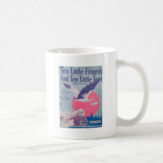 10 Little Fingers and 10 Little Toes Classic White Coffee Mug