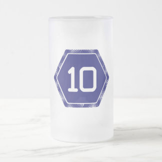 #10 marina de guerra Tek Taza De Cristal