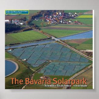 10 Million Watt solar array Poster