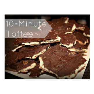 10-Minute Toffee Recipe Card