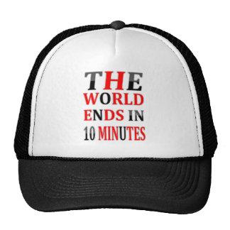 10 MINUTES TRUCKER HAT