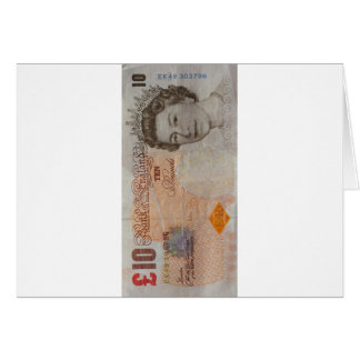 £10 note card