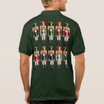 10 Nutcracker Toy Soldiers And A Nutcracker King Polo Shirt