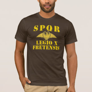 10 Octavian/Augustus' 10th Fretensis Naval Legion T-Shirt