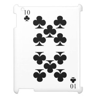 10 of Clubs iPad Covers