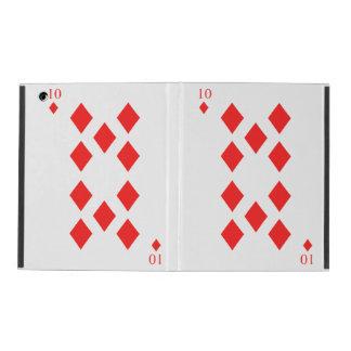 10 of Diamonds iPad Cover