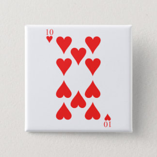 10 of Hearts Button
