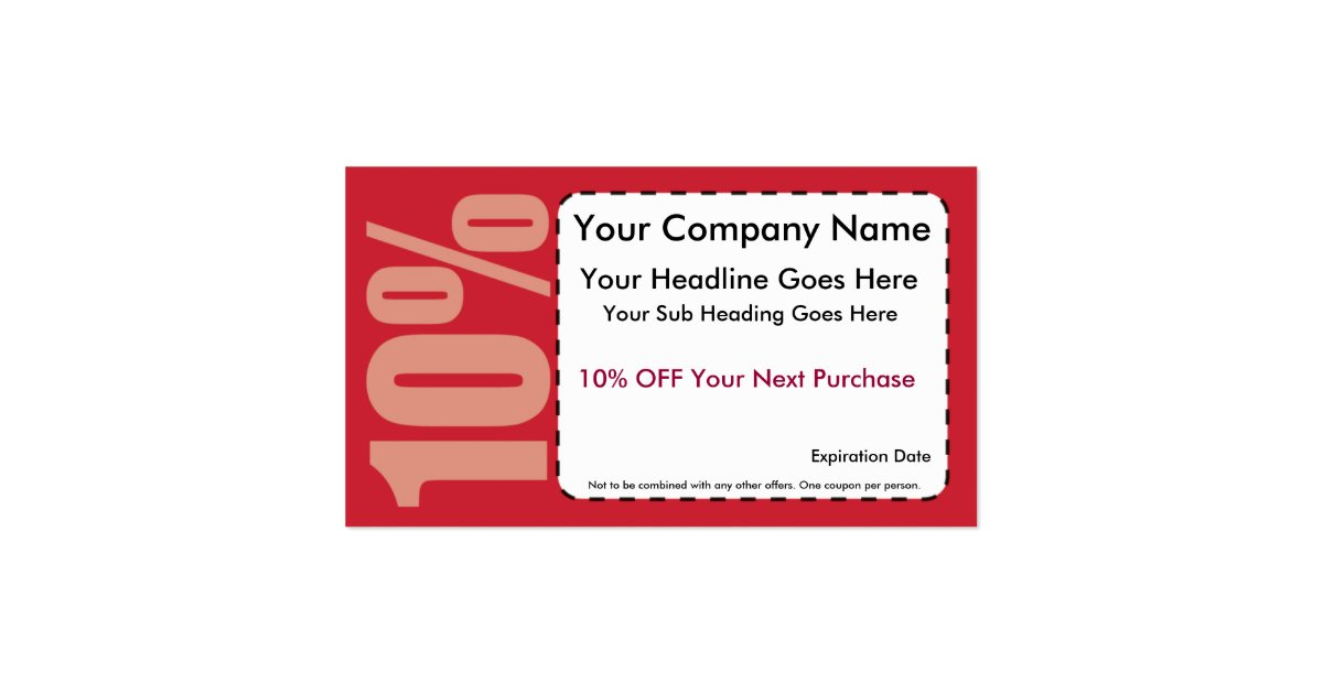 10 off coupon business card zazzle for Zazzle business card coupon