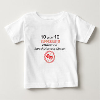 10 out of 10 Terrorist Endorsed Baby T-Shirt