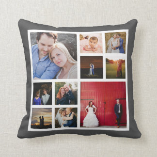 10 Photo Collage Pillow | Instagram Photo Pillow