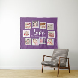 10 Photo Template Collage Personalized Love Tapestry