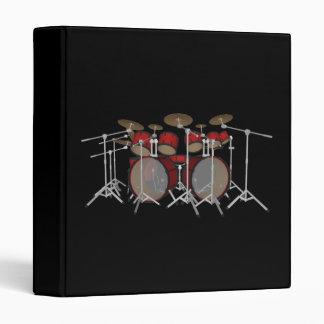10 Piece Drum Kit: Custom Binder