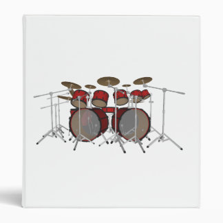 10 Piece Drum Kit: Custom Binder