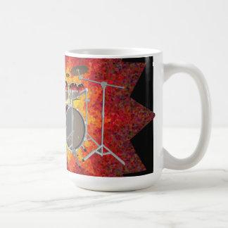 10 Piece Drum Kit & Graphics: Coffee Mug