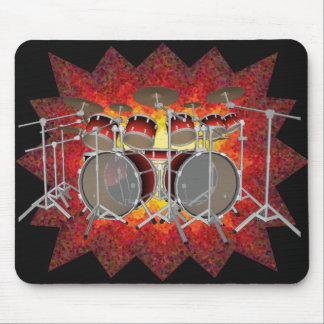 10 Piece Drum Kit & Graphics: Custom Mousepad