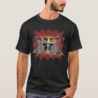 10 Piece Drum Kit & Graphics: T-Shirt: Black T-Shirt