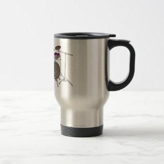 10 Piece Drum Kit: Violet Gradient: Travel Mug